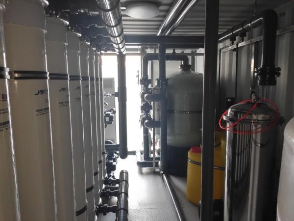 出口罗马尼亚超滤一体化集装箱设备